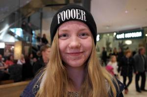 Sandra Karlberg, 13 år, Ornäs skola:– Ja, det tror jag, i alla fall när jag äter hemma. Mamma och pappa tänker på att handla mycket ekologiskt, speciellt när det gäller kött, men även grönsaker.