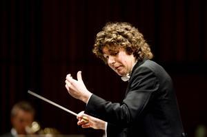 Det var nästan fullsatt vid Robin Ticciatis sista konsert som chefsdirigent. Men han återvänder i höst som gästdirigent.Foto: Catharina Sandström