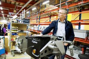 Sysselsättningen på Samhall i Svenstavik är återigen tryggad. I måndags påbörjades produktionen av chassin som ska levereras till Permobil.