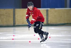 Jimmy Jansson under en Tillbergaträning.