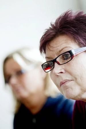 vill berätta. Birgitta Ågren kan tänka sig att ställa sig på en scen på Stortorget och berätta om sin upplevelse av att bli av med sjukförsäkringen.