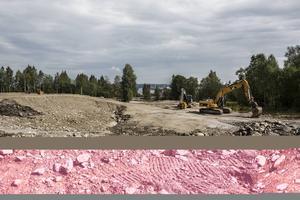 Vid cirkulationsplatsen i Stockvik ska kommunen bygga en anslutning in på Stockviksvägen.