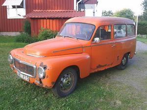 Volvo Duetten innan renoveringen.