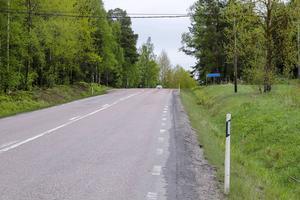 Det ska byggas en cykelväg så att det går att cykla hela vägen mellan Bollnäs och Vallsta.