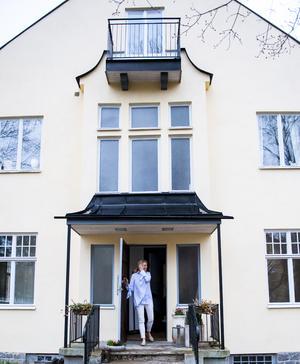 Välkommen hem till oss på Lindingö, säger Jeanette Rattfeldt-Thysell.