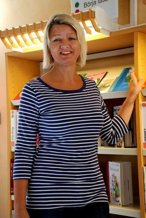Gun-Marie Bergström menar att det är viktigt att satsa på barn- och ungdomslitteratur.