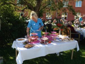Therese Sjöström var en av de som deltog i kafferepet på Fredens kulle.