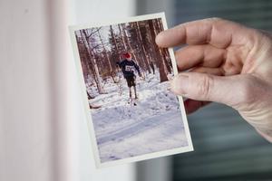 Så här såg Lars Ekengren ut som trettonåring, samma år som han för första gången var med på ett årsmöte i Korsnäs IF.
