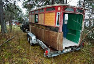 Efter 77 år som gäststuga var det åter dags för länets äldsta buss att ge sig ut på de jämtländska vägarna.