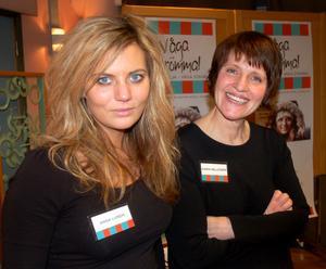 Två som drömmer och vågar, Anna Lundh och Karin Hellström.
