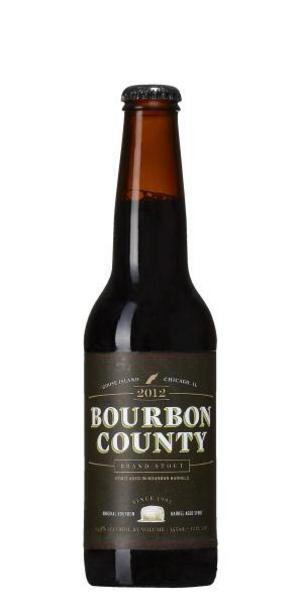 2012 Goose Island  Bourbon County Stout, USA
