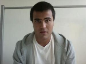 Zhyar Osman från Västerås har via en Facebookomröstning vunnit en test av studentlivet vid Umeå universitet.