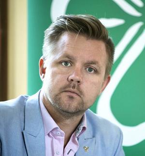 Europaparlamentariker Fredrik Federley (C).