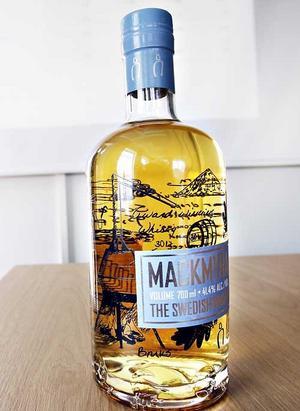 Mackmyra whisky.