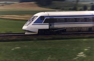 Tågupplevelsen i Sverige blev något annat än vad Conny Fjellner, som inte hade åkt tåg i Sverige på 25 år, förväntade sig. Foto: Lotta Ögren.