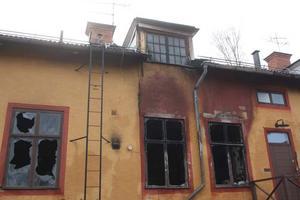 Delar av fastigheten där Navet finns förstördes i branden.