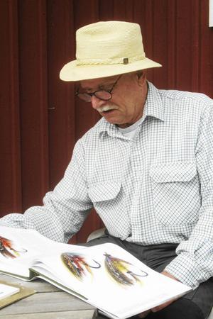 Thommy Gustafsson, konstnär och fiskare.