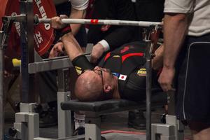 Daiki Kodamas insats i 74-kilosklassen var inget annat än imponerande. Här klarar han nya världsrekordet 300 kilo – fyra gånger hans egen kroppsvikt!