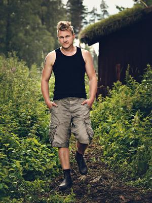 Erik Persson, 33 år, egenföretagare och vinnare av Farmen 2013, Kolsva: