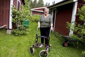 Karin Uddén har kämpat sig tillbaka och är väldigt nöjd med den hjälp hon fick av Trygg hemgång-patrullen.