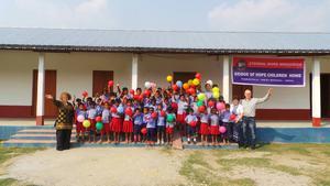 Barnhemmet i Samuktala har 100 platser, vara 65 är besatta av tacksamma barn mellan fem och tolv år. Genom att bli fadder kan man se till att fler barn får plats.