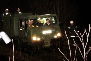 Räddningsuppdraget försvårades av att räddningsmännen fått fel koordinater och därför hade svårt att hitta olycksplatsen.