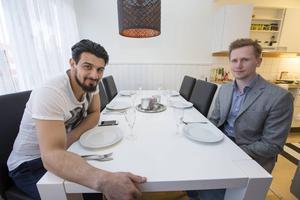 Raad Al-Duhan och Roger Hedlund.