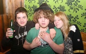 Konrad. Erik, Jonatan och Alexandra
