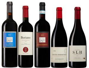 Bra röda köp bland augustis månads tillfälliga vinnyheter på Systembolaget.