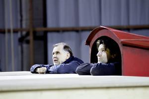 Regissören Peter Oskarson och skådespelaren Martin Pareto.