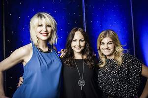 Swedish House Wives. Jenny Silver, Hanna Hedlund och Pernilla Wahlgren.