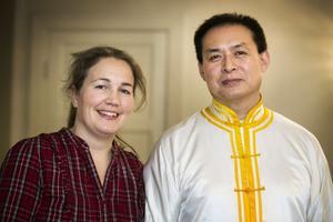 Agneta Viklund Liu och Pu Guang Liu.