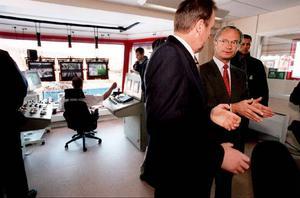 1999 besökte kungen Gällö och invigde den nya såglinjen vid Gällösågen. I Gällö ordnades också en lunch med 340 gäster.