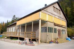 Gamla aktivitetshuset har köpts av Kuppjark AB som ska starta restaurang med mat från världens alla hörn.Foto: Carin Selldén