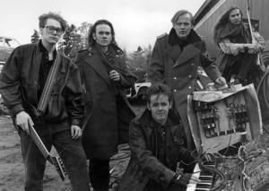 14. Abnormalized spelade industrirock och kom från Strömsund. Bilden från 1991.