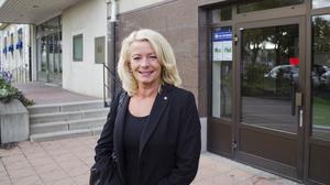 Socialdemokraternas riksdagsledamot Pia Nilsson från Sala. Fotograf: Mårten Arvidsson