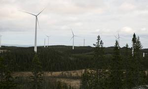 Sollefteå kommun säger ja till vindkraft vid Finnåberget, Helgum.