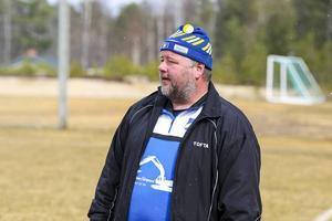 Lillhärdals tränare Anders Roos
