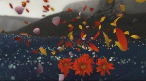 Kronblad och vind i huvudrollen i vackra Flower.