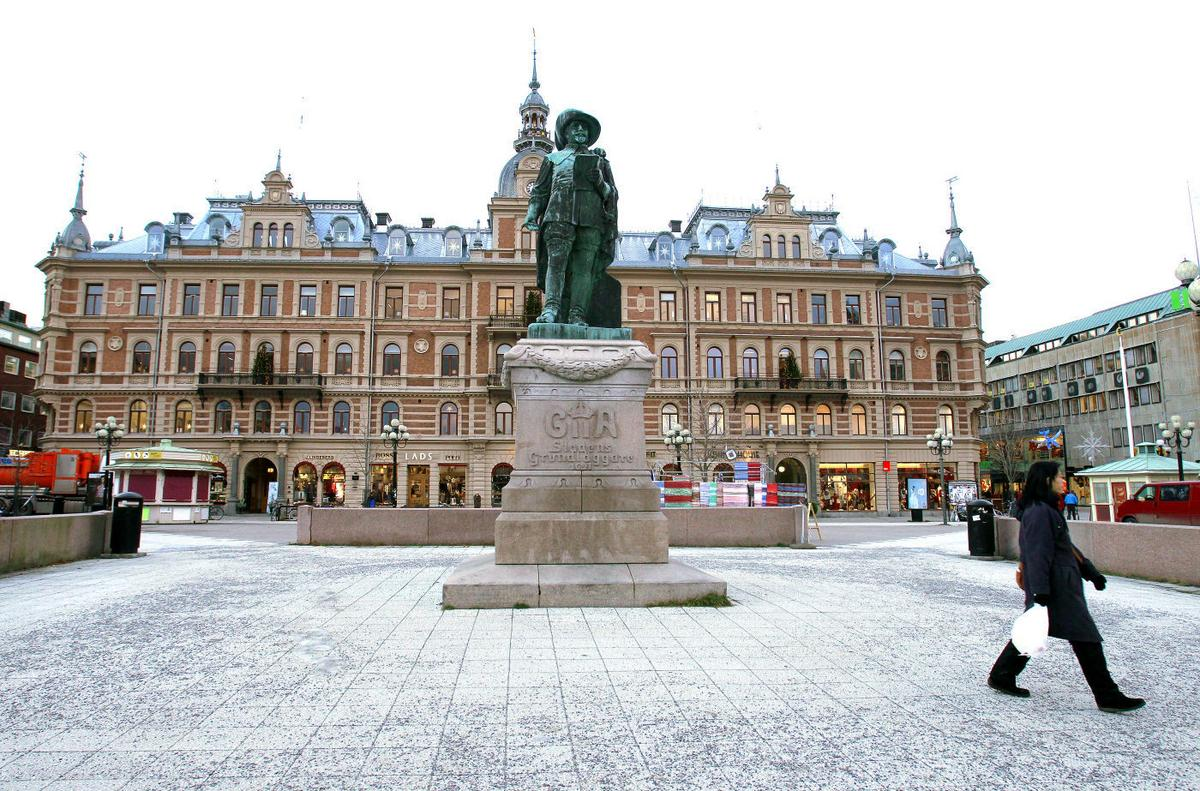 Frsndelser med Gustav VI Adolf-frimrken