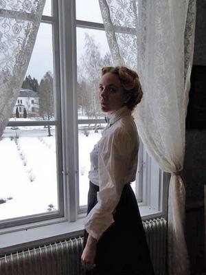 Olivia Molin gör rollen som Wilhelmina Skogh genom livet.