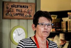 Eva-Britt Svensson är en anställd som drabbas då ALU-center i Söderhamn läggs ned.