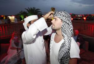 Erik Segerstedt i Dubai.
