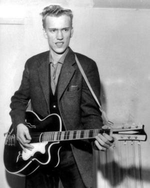 Rock-Ragge med gitarr år 1958.