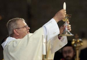 Gamla kyrkan bjuder inte längre på alhoholfritt vin.   Foto: Mark Earthy/SCANPIX