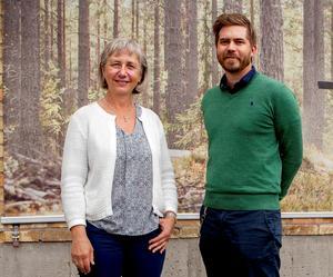 Mia Wester och Malte Frisk har nut fått klartecken till  ett 3‐årigt projekt inom kompetensförsörjning och rekrytering hos teknikföretagen i Höga Kusten.