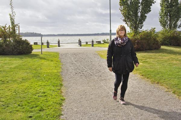 Anita Blom säger att det kan låta klyschigt, men när stressen slog till på allvar kändes det som att gå in i en betongvägg. Det tog tvärstopp.