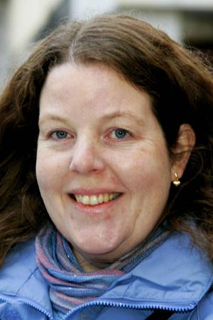 Liselotte Martinsson, 42 år, Frösön:– Det kan vara stordriftsfördelar med en stor region, men det är också bra med lokal förankring.