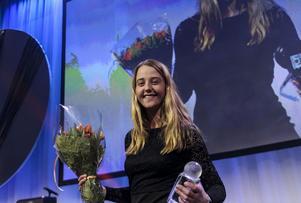Malin Persson blev prisad som årets damspelare på Bandygalan.