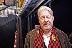 Rolf Lassgård är en trogen Brynäs-supporter.